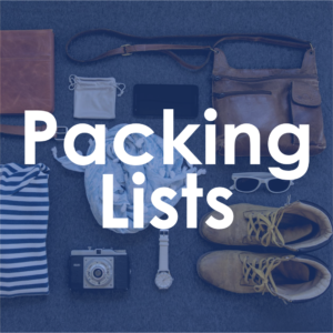 Birthright Israel Packing Lists Thumbnail