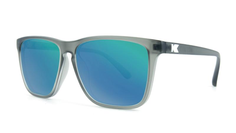 Knockaround Fast Lanes Silver Sunglasses